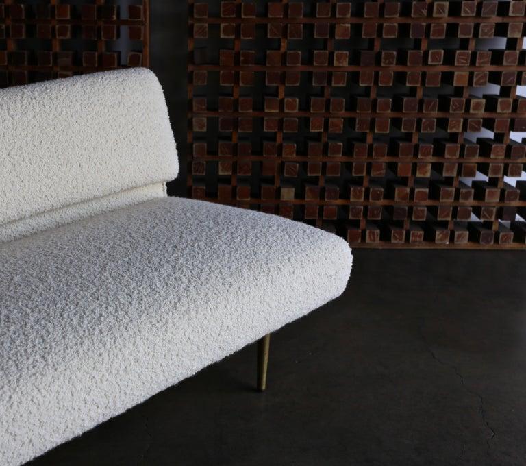 Edward Wormley Armless Sofa for Dunbar, circa 1955 In Good Condition For Sale In Costa Mesa, CA
