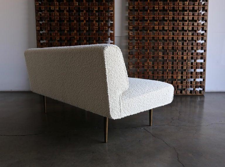 20th Century Edward Wormley Armless Sofa for Dunbar, circa 1955 For Sale