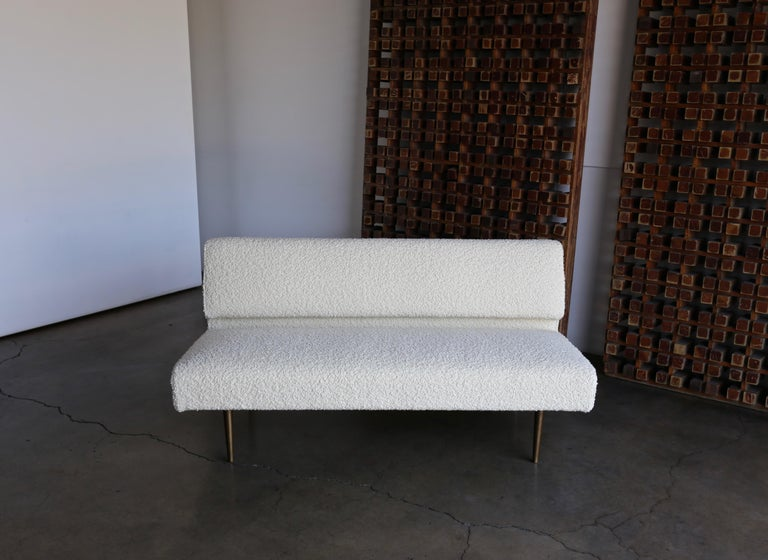 Edward Wormley Armless Sofa for Dunbar, circa 1955 For Sale 1