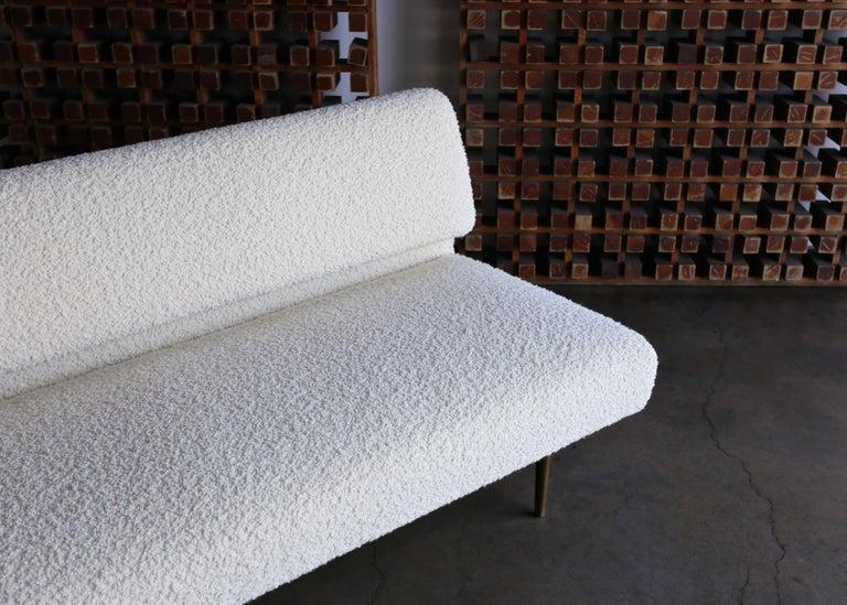Edward Wormley Armless Sofa for Dunbar, circa 1955 For Sale 2