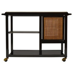 Edward Wormley Bar/ Serving Cart by Dunbar