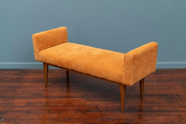Mid-Century Modern Edward Wormley Bench for Dunbar For Sale