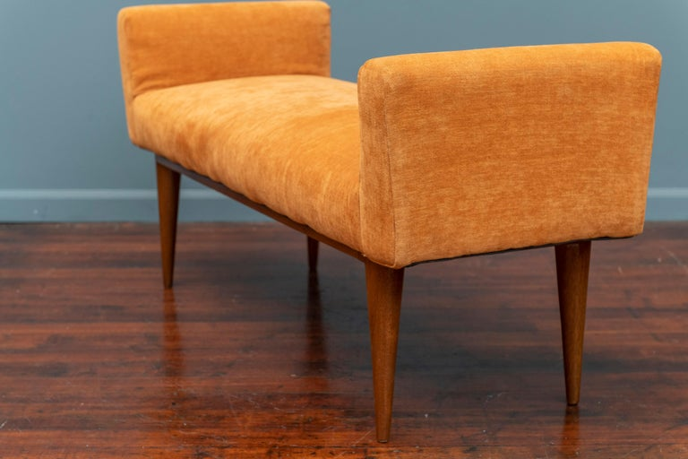 Mid-20th Century Edward Wormley Bench for Dunbar For Sale