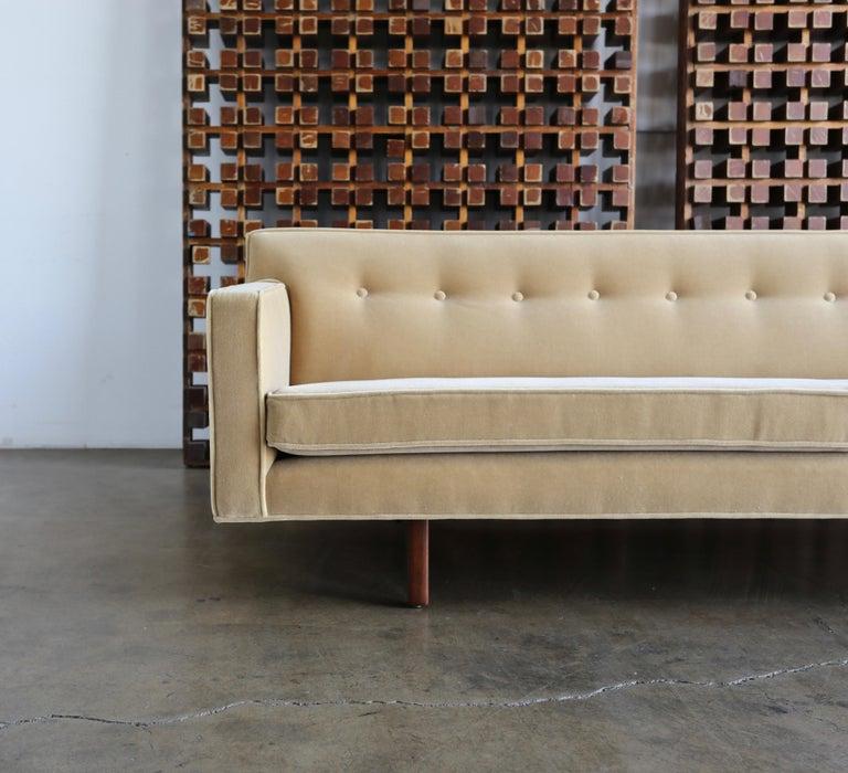 Edward Wormley Bracket Back Sofa for Dunbar, circa 1955 For Sale 2