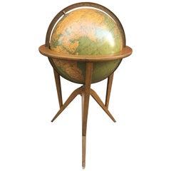 "Edward Wormley ""Cosmopolitan"" Rand McNally World Globe"