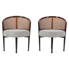 Edward Wormley Curved Back Chairs