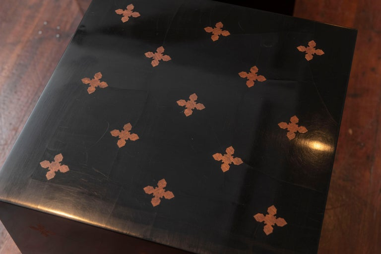 Mid-20th Century Edward Wormley Design Cube Tables for Dunbar For Sale