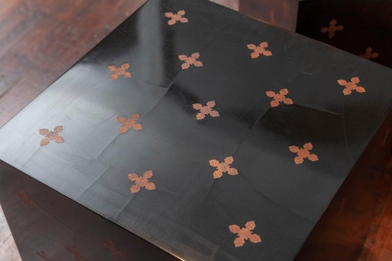 Laminate Edward Wormley Design Cube Tables for Dunbar For Sale