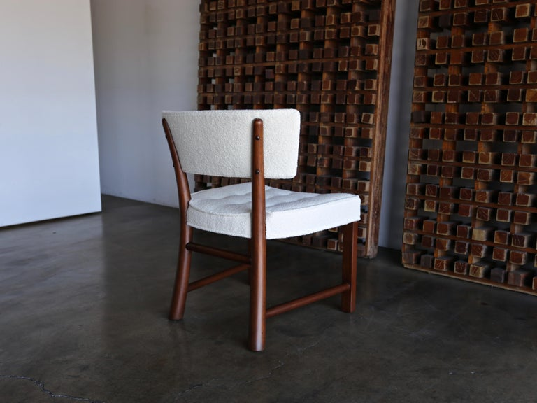 Edward Wormley Dining Chairs for Dunbar, circa 1957 For Sale 3