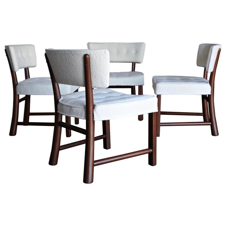 Edward Wormley Dining Chairs for Dunbar, circa 1957 For Sale