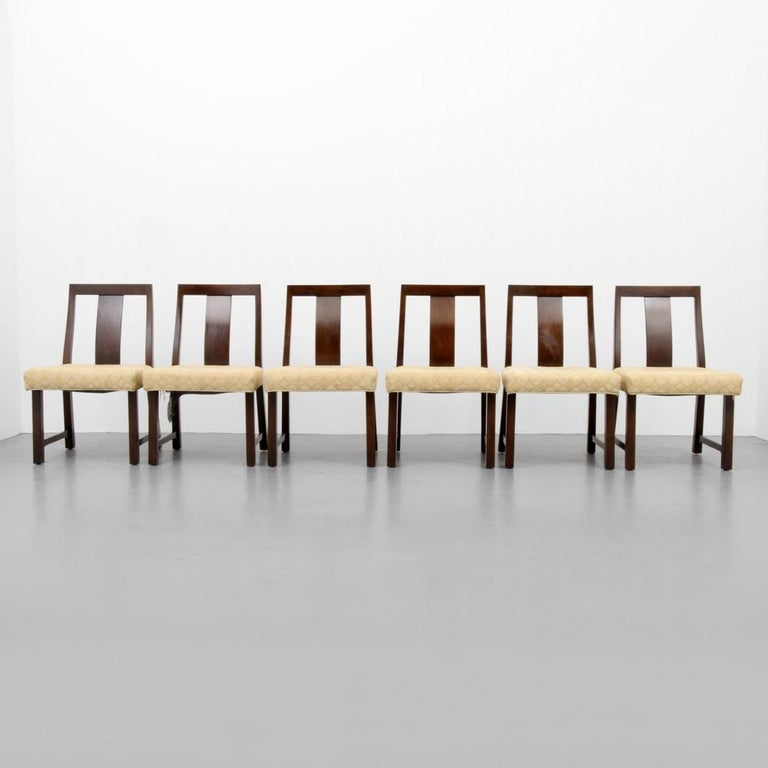 Edward Wormley Dining Table and 6 Chairs For Sale 2