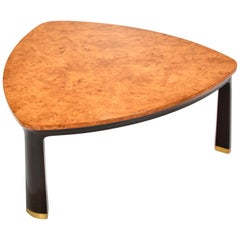 Edward Wormley Dunbar Carpathian Elm Coffee Table