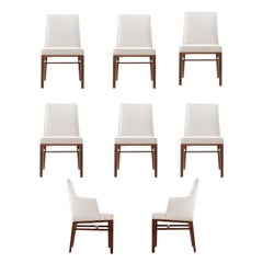 Edward Wormley, Dunbar Dining Chairs, Set of 6