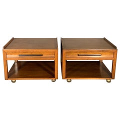 Edward Wormley Dunbar Large Occasional Square Tables