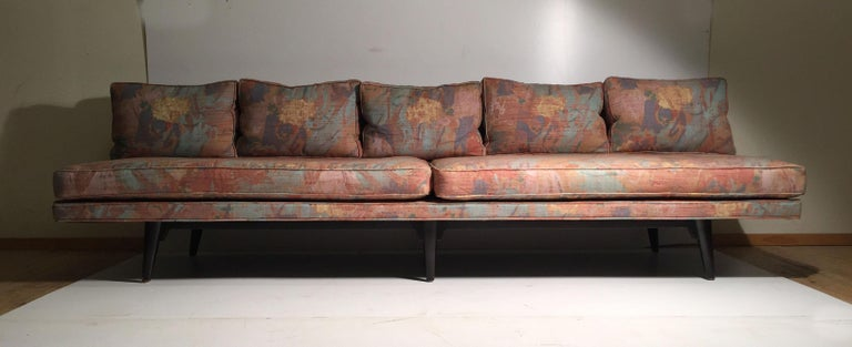 Edward Wormley Dunbar sofa can be paired as a sectional with matching chaise longue 5525 we have offered in another listing.