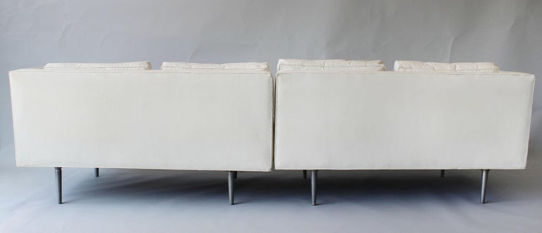Metal Edward Wormley Dunbar Sofa For Sale