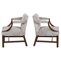 Edward Wormley Dunbar Style Lounge Chairs