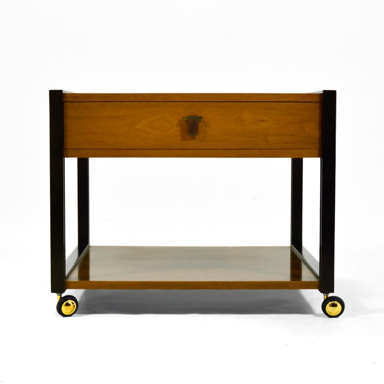 Mid-Century Modern Edward Wormley End Table by Dunbar For Sale