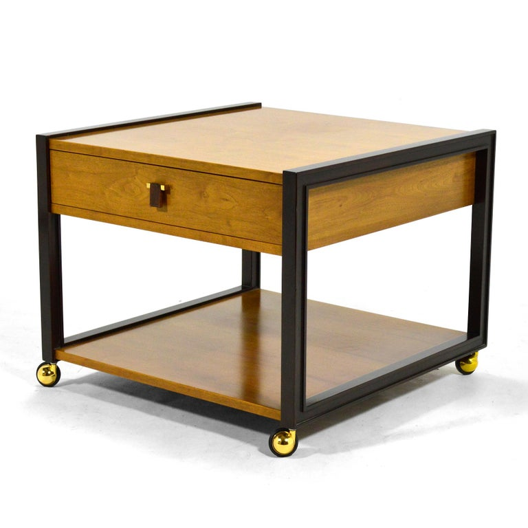 American Edward Wormley End Table by Dunbar For Sale
