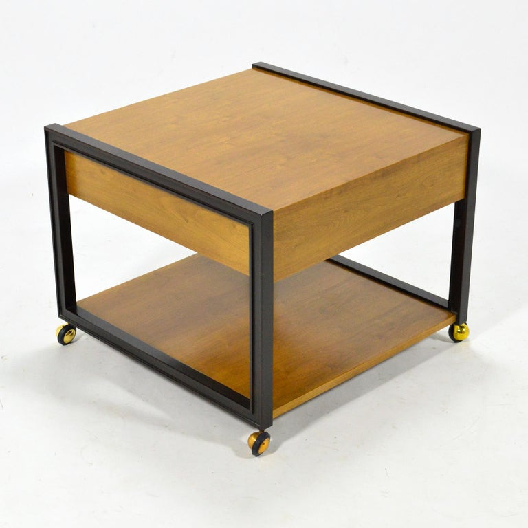 Mid-20th Century Edward Wormley End Table by Dunbar For Sale