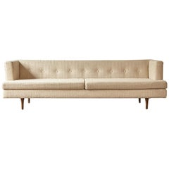 Edward Wormley Even Arm Sofa, Made by Dunbar, USA, 1950s