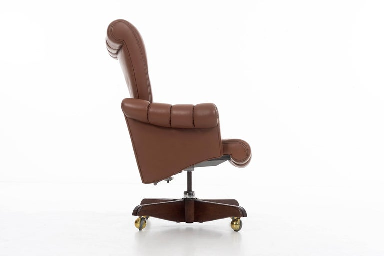 Mid-Century Modern Edward Wormley Executive Chair For Sale