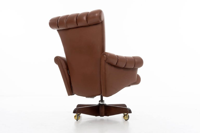 American Edward Wormley Executive Chair For Sale