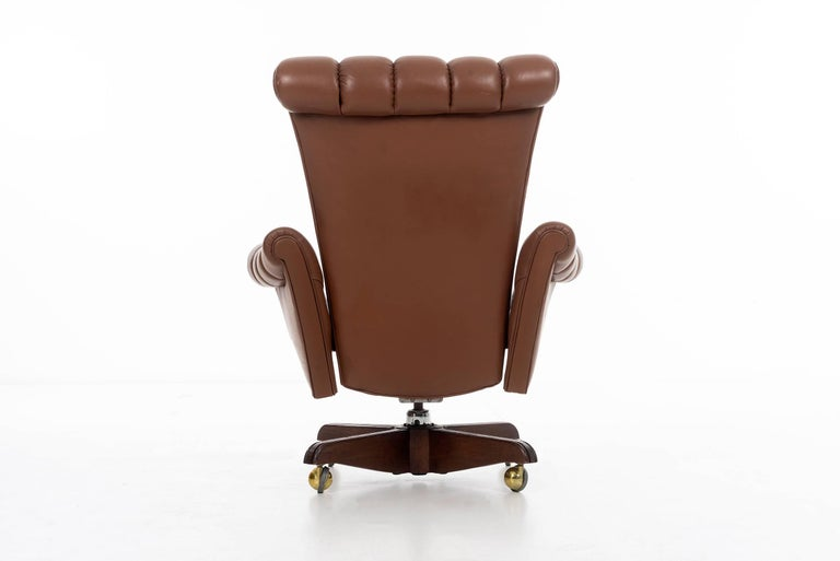 Edward Wormley Executive Chair In Good Condition For Sale In Chicago, IL