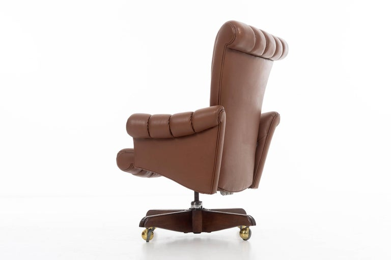 Mid-20th Century Edward Wormley Executive Chair For Sale