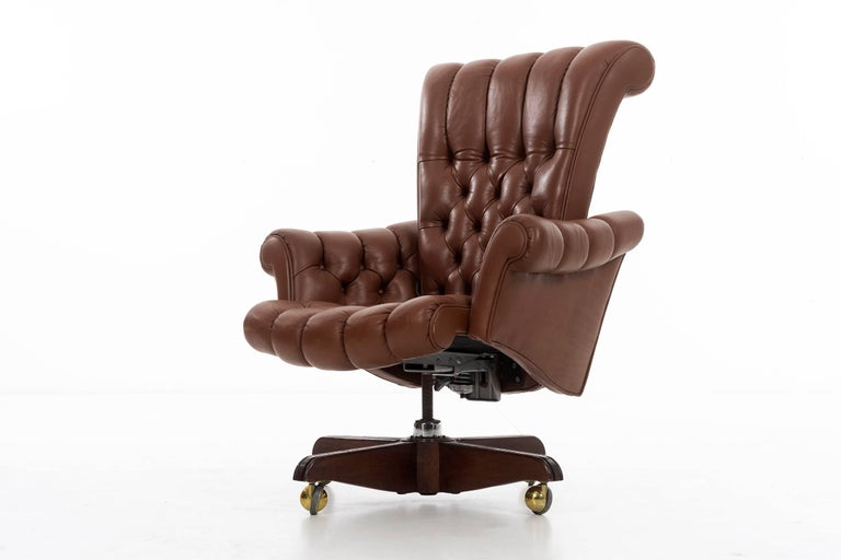 Edward Wormley Executive Chair For Sale 1