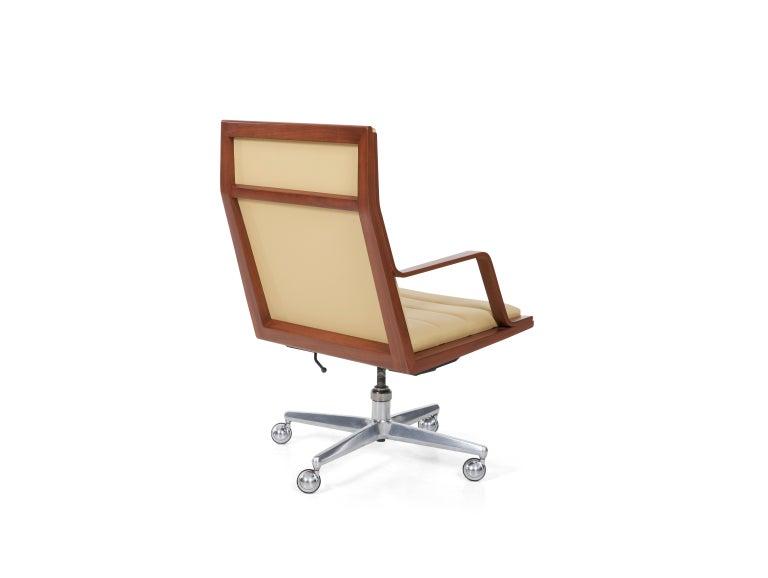 American Edward Wormley Executive Desk Chair For Sale