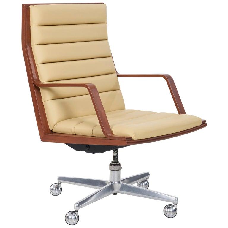 Edward Wormley Executive Desk Chair For Sale