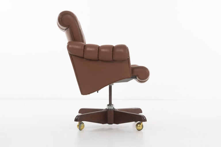 American Edward Wormley Executive Office Chair For Sale