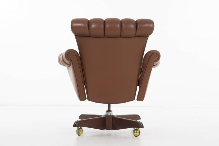 Mid-20th Century Edward Wormley Executive Office Chair For Sale