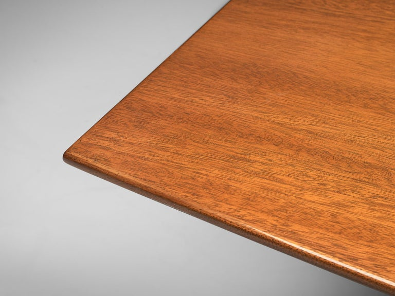 Edward Wormley Extendable Dining Table in Tawi For Sale 1
