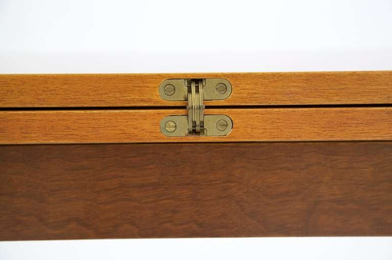 American Edward Wormley Flip-Top Console Table For Sale