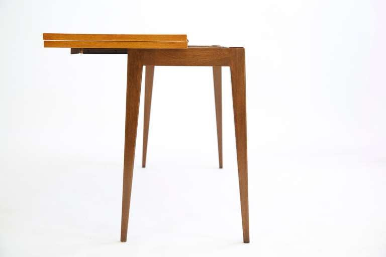 Mid-20th Century Edward Wormley Flip-Top Console Table For Sale