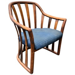 Edward Wormley for Drexel Midcentury Rosewood Club Chair