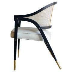 Edward Wormley for Dunbar 5480 Sculpted Lounge Chair, circa 1955