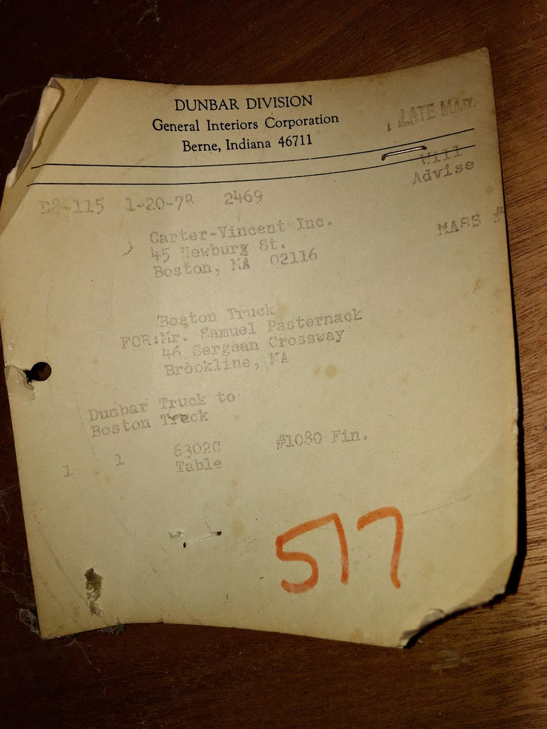 Edward Wormley for Dunbar #6302C Pedestal Drum Bar Cabinet For Sale 7