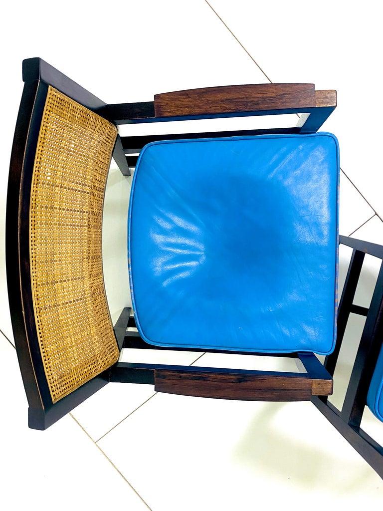 Mid-Century Modern Edward Wormley for Dunbar Armchairs For Sale