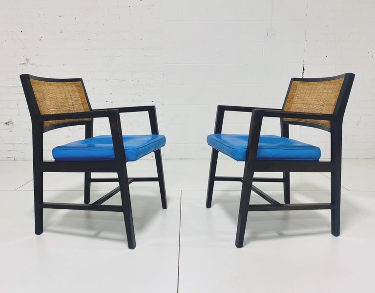 Edward Wormley for Dunbar Armchairs In Good Condition For Sale In Chicago, IL