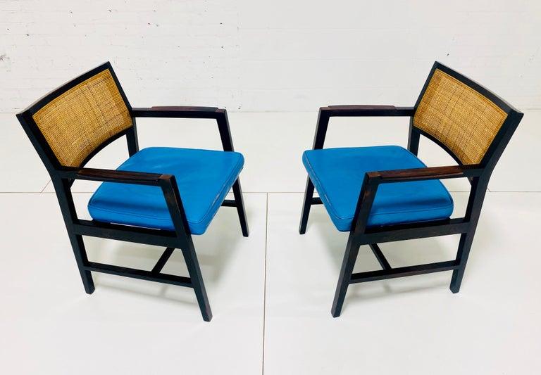 20th Century Edward Wormley for Dunbar Armchairs For Sale
