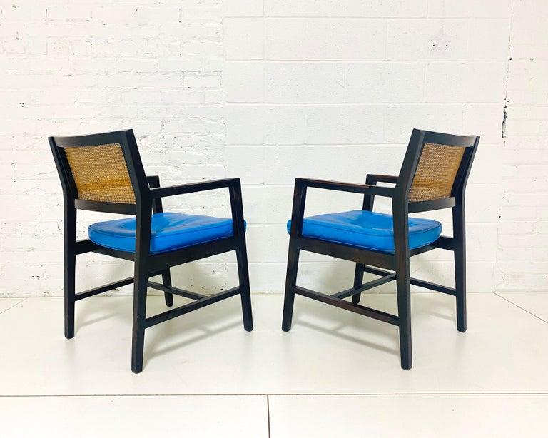 Edward Wormley for Dunbar Armchairs For Sale 2