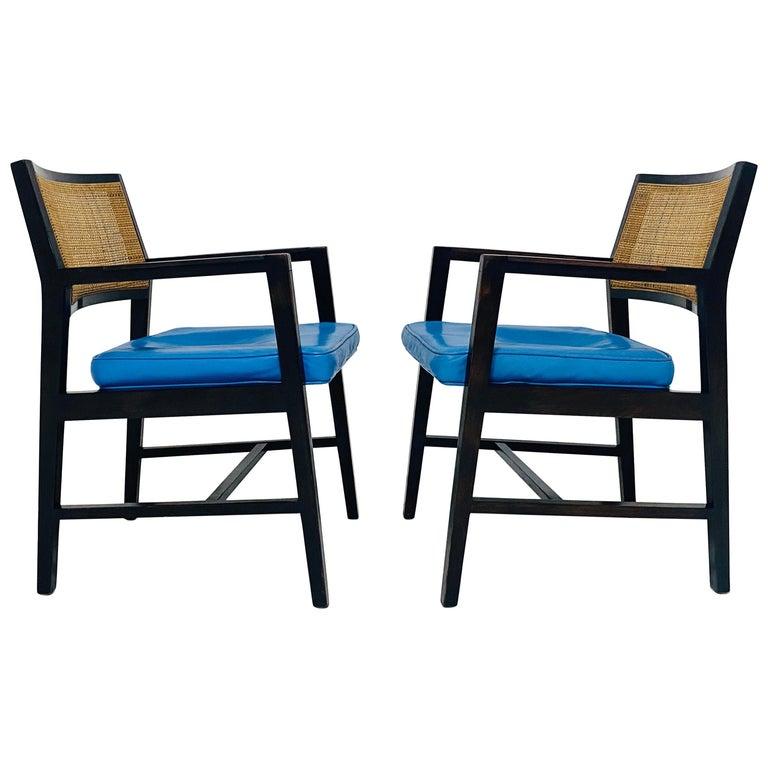 Edward Wormley for Dunbar Armchairs For Sale