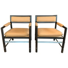 Edward Wormley for Dunbar Armchairs, Pair