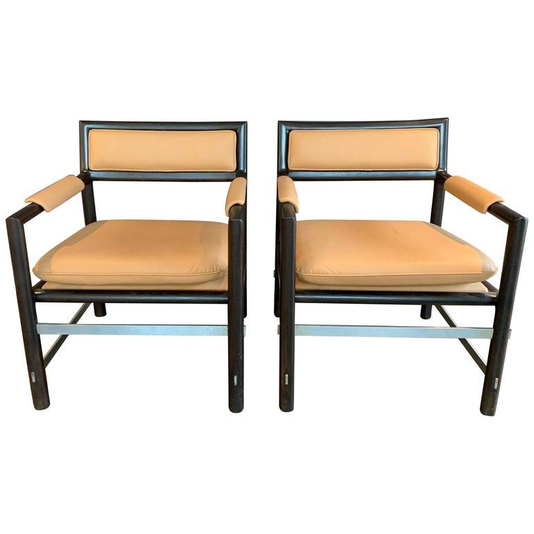 Edward Wormley for Dunbar Armchairs, Pair For Sale