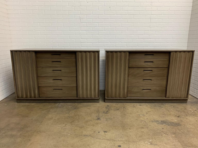 Stained Edward Wormley for Dunbar Cabinets For Sale