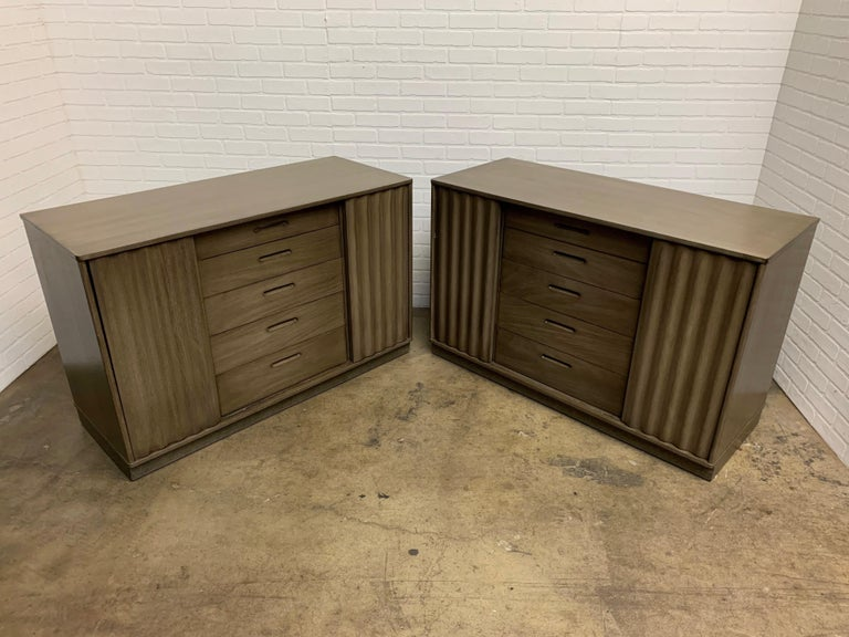 20th Century Edward Wormley for Dunbar Cabinets For Sale