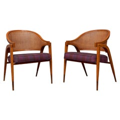 Edward Wormley for Dunbar Captain's Chairs